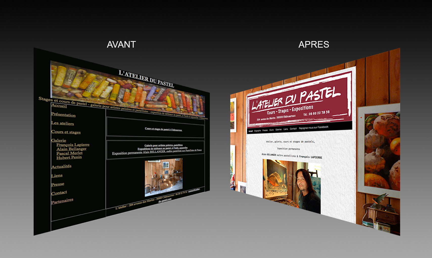 site web : L'Atelier du Pastel.com