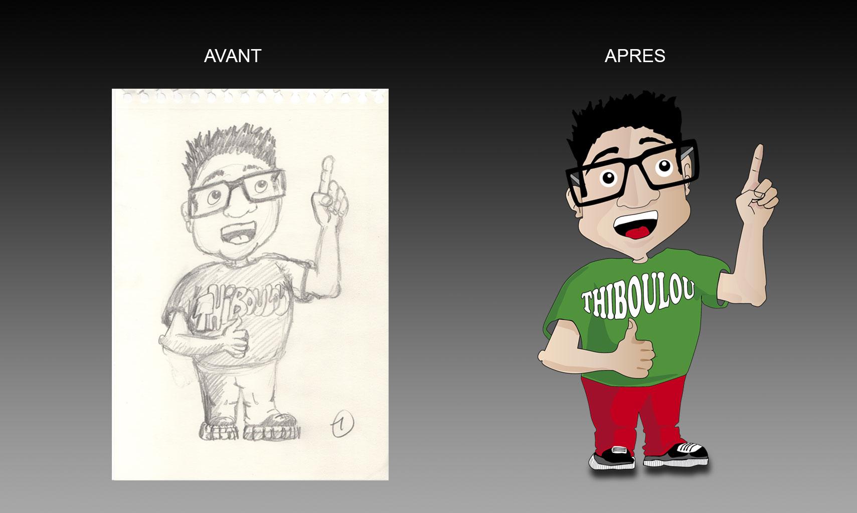 Mascotte borne : concept Société Temallys.com